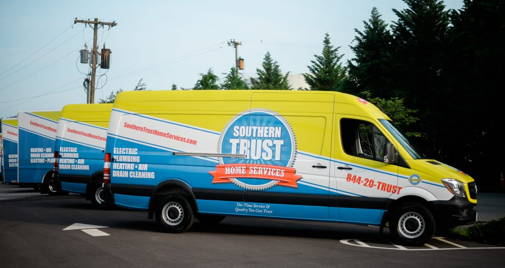 Thank You - Southern Trust Home Services truck